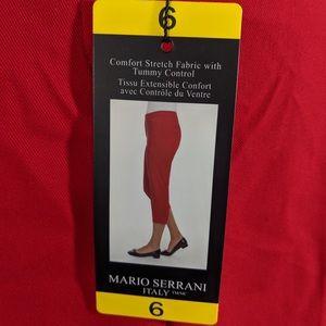 Mario Serrani Comfort Stretch Cropped Pants
